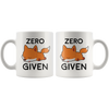 White 11oz Mug - Zero Fox Given