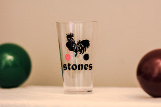 Stones Acrylic Pint Glass