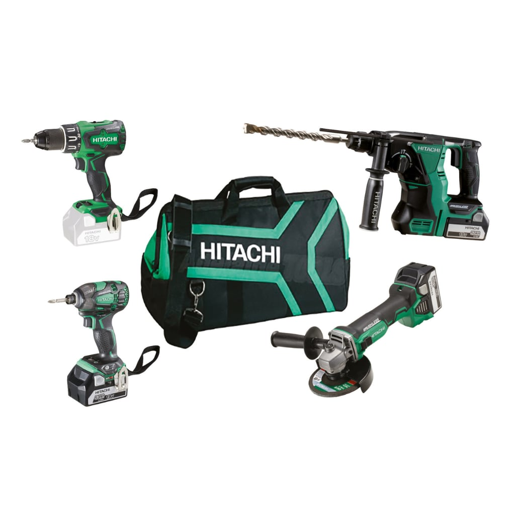 Set Elettroutensili Hitachi KC18DG4L