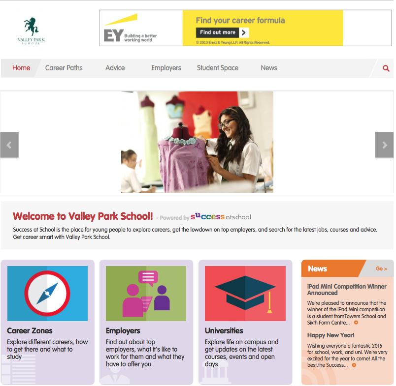 Create your own Careers VLE | Personalised Careers Platform