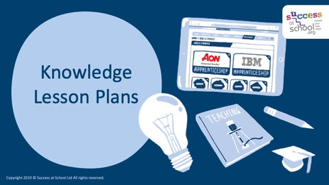 Individual Knowledge Lesson Plan - 18 Subjects