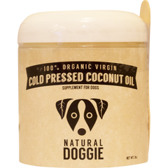 SitStay Natural Doggie 100% Organic Cold Pressed Coconut Oil