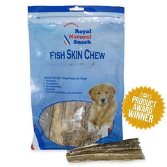 ELINORA'S DRIED FISH SKIN CHEWS - DOG TREATS