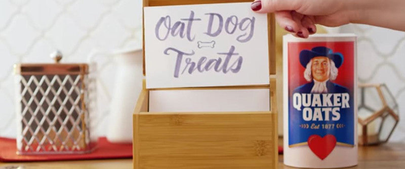 [Video] Quaker Oat Dog Treat Recipe