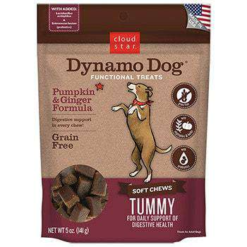 Cloud Star - Dynamo Dog Tummy - Pumpkin & Ginger 5 oz - SitStay
