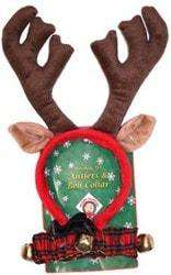 Outward Hound Kyjen - Holiday Antler & Bell Combo for Dogs