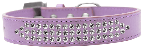 Purple Collar with Crystals