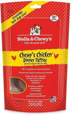 Stella & Chewy's, Chewy's Chicken Dinner Patties 15 oz. - SitStay