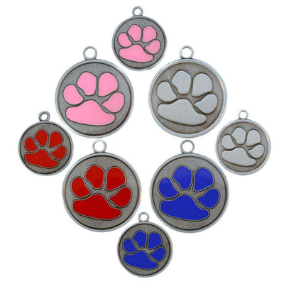 dogIDs Tough Paw Dog ID Tags - SitStay - 1