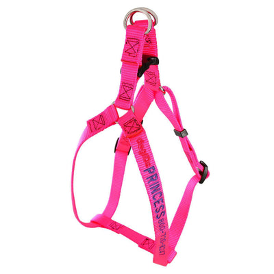 dogIDs Embroidered Nylon Step-In Dog Harness - SitStay - 3