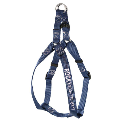 dogIDs Embroidered Nylon Step-In Dog Harness - SitStay - 5