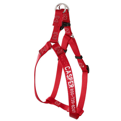 dogIDs Embroidered Nylon Step-In Dog Harness - SitStay - 6