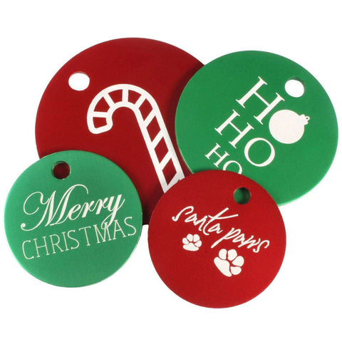 dogIDs Christmas Dog Tags