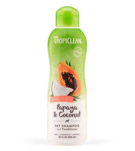 Tropiclean Natural Pet Shampoo Papaya Plus - SitStay