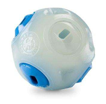 Orbee-Tuff Glow-in-the-Dark Whistle Ball by Planet Dog - SitStay