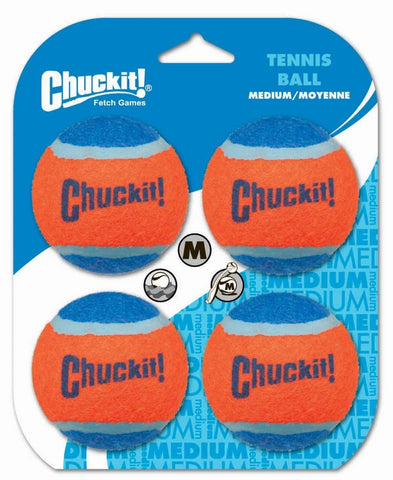 ChuckIt! Tennis Ball 4-pack - SitStay