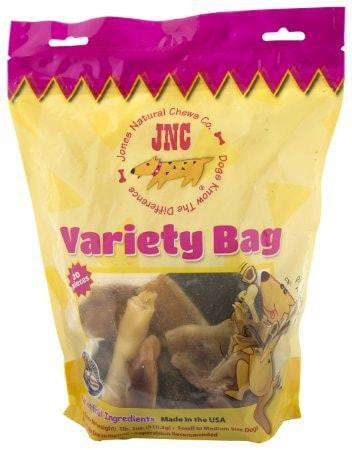 Jones Natural Chews Variety Bag (Includes Bully Snacks!) - SitStay