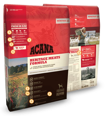 Acana Heritage Meats Dog Food - SitStay