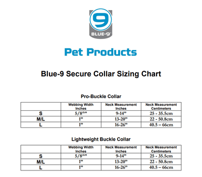 Secure Pro Dog Collar by Blue-9 Pet Products
