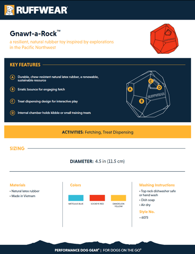 Gnawt-a-rock product sheet