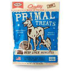 Primal Pet Foods - Freeze-Dried Beef Liver Munchies Treats - SitStay