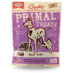 Primal Pet Foods - Jerky Beef Nibs Treats - SitStay