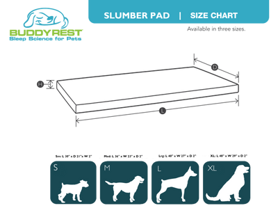 Slumber Pad Plush Crate Bed