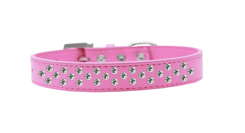 Pink Collar w/ Crystals