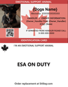 ESA Dog ID Card
