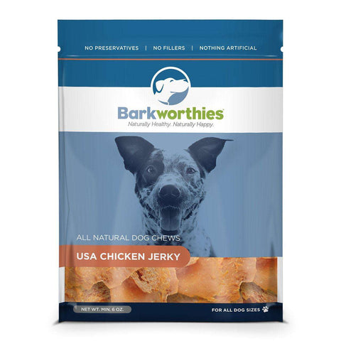 Barkworthies Natural Chicken Jerky - SitStay - 1
