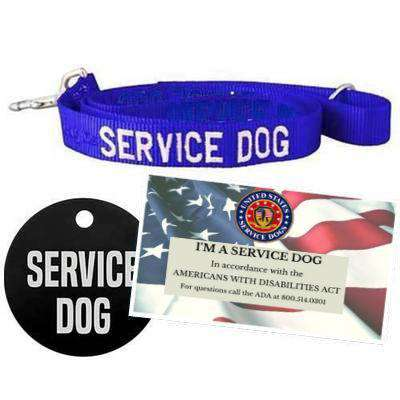 dogIDs Customized Service Dog Starter Kit, Medium Dog