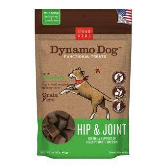 Cloud Star - Dynamo Dog Hip & Joint - Chicken 14oz - SitStay