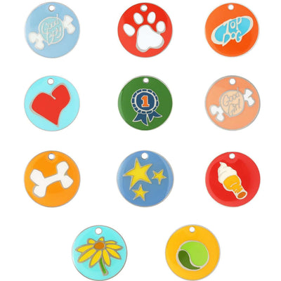 dogIDs Enamel Designer Pet Tags by Andrew - SitStay