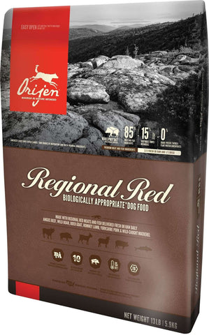 Orijen Dog Kibble - Regional Red