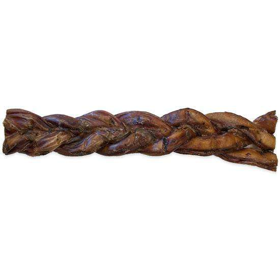 Jones Natural Chews Braided Sticks, 8""