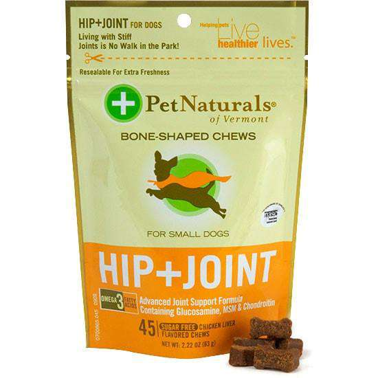 Hip & Joint for Small Dogs by Pet Naturals - SitStay