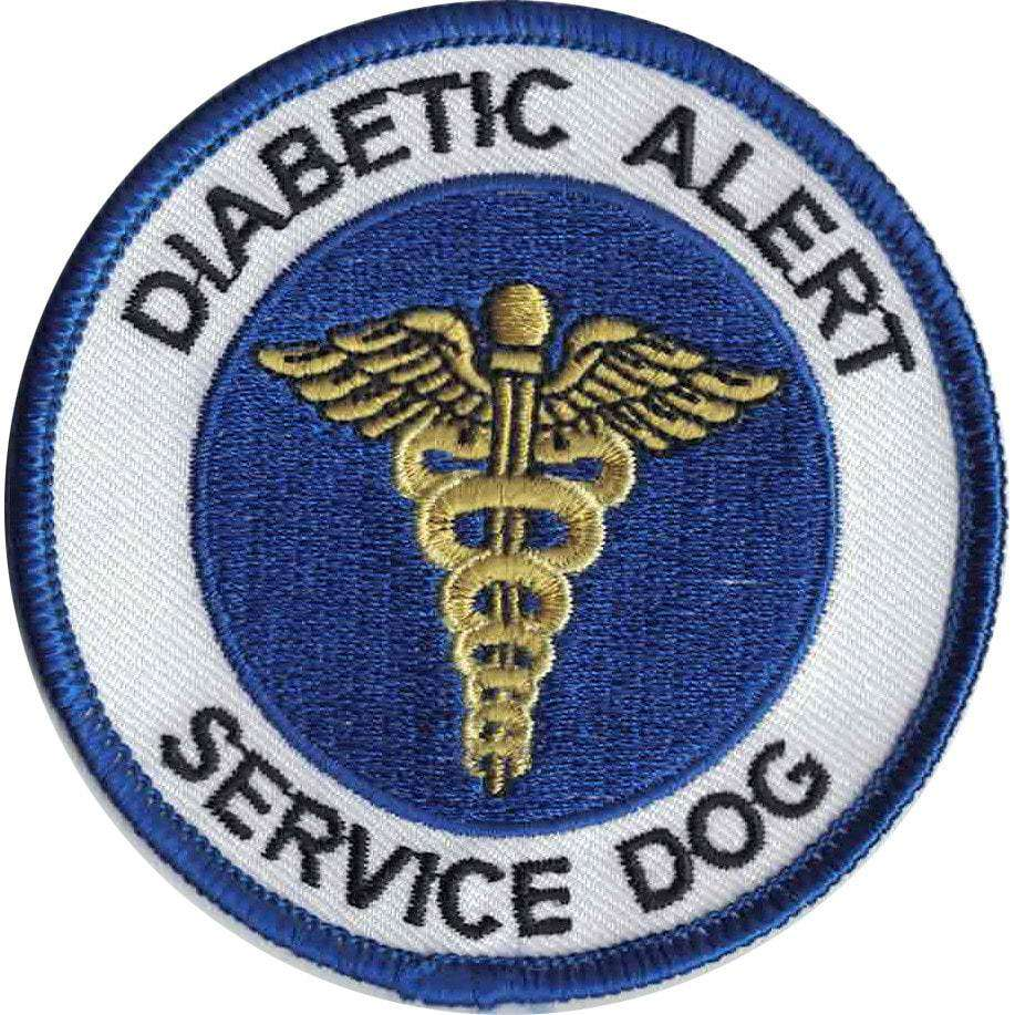 Patch, Diabetic Alert, Service Dog - SitStay