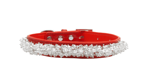 Faux Croc Beaded Collar