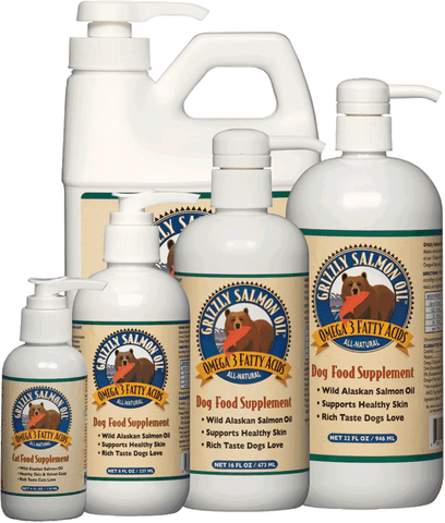 100% All Natural Wild Alaskan Grizzly Salmon Oil - SitStay - 1