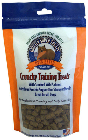 Grizzly Wild Alaskan, Smoked Salmon, Crunchy Training Treats (Gluten Free!) - SitStay - 2