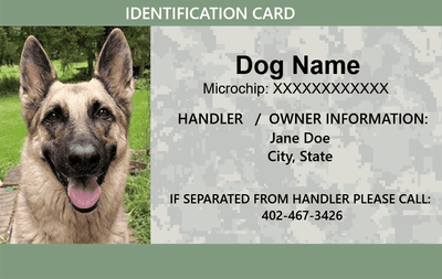 ID Card - Pet Companion