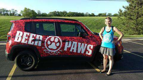 Beer Paws Tank Top