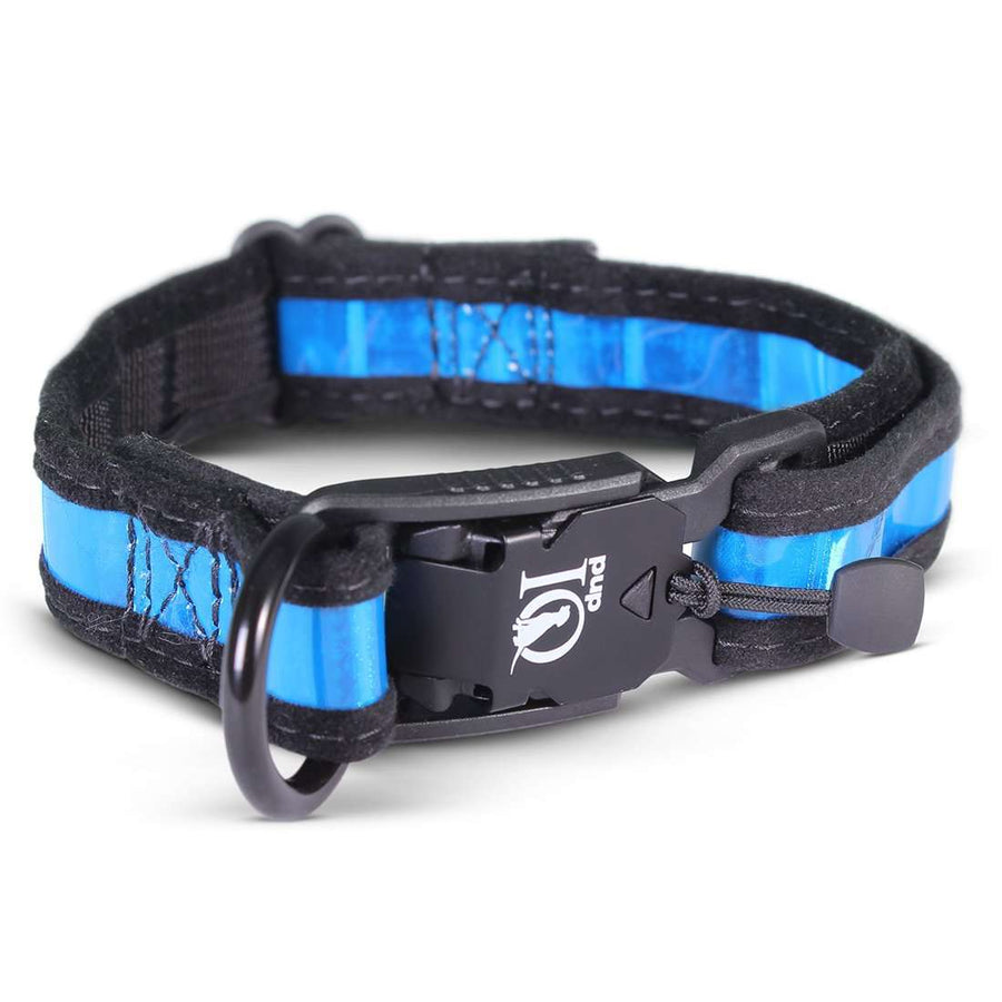 Prisma Reflective Dog Collar With Magnetic Clasp