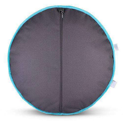 Luxe Pup Capri Teal Round Dog Bed by PupIQ