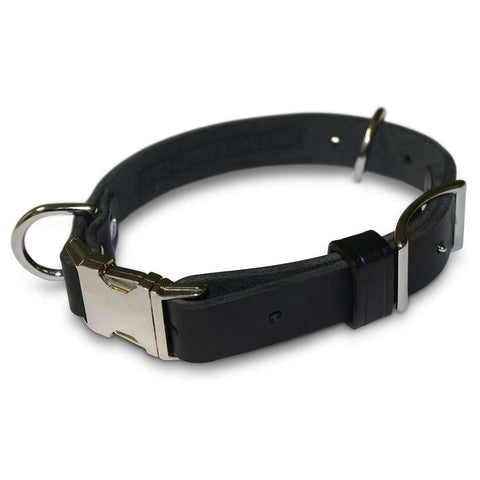 Tough Pup Adjustable USA made Leather Collar