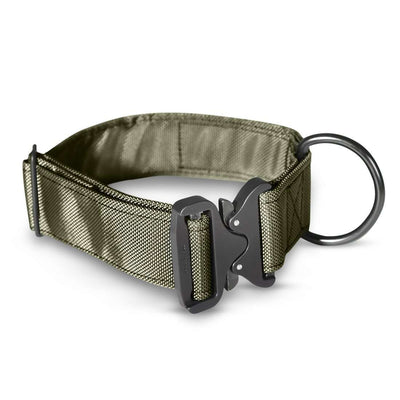 Cobra Tactical Dog Collar by Tough Pup