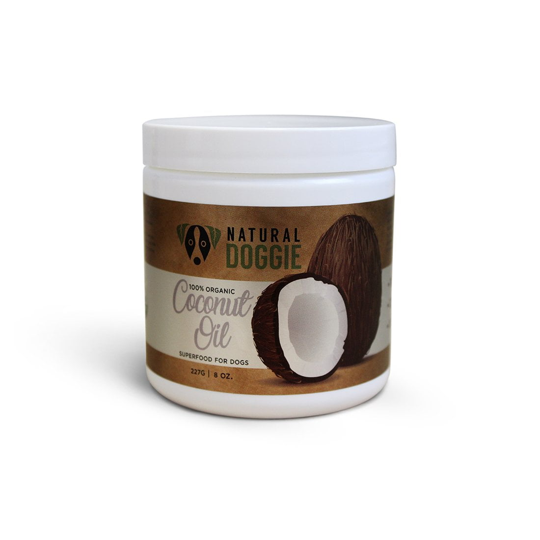 natural doggie virgin coconut oil 8oz