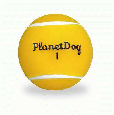 Orbee-Tuff Tennis Ball, Yellow, by Planet Dog - SitStay