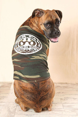 Beer Paws Dog Tank