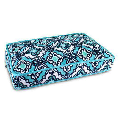 Luxe Pup Capri Teal Pillow Dog Bed by PupIQ